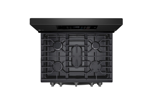 Model: LRG3194BM   LG 5.4 cu. ft. Gas Single Oven Range with Fan Convection and EasyClean