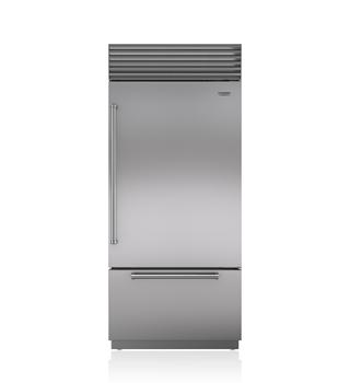 "Sub-Zero 36"" Classic Over-and-Under Refrigerator/Freezer"