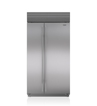 "Sub-Zero 42"" Classic Side-by-Side Refrigerator/Freezer with Internal Dispenser"