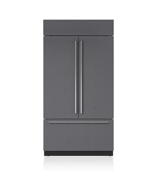 "Sub-Zero 42"" Classic French Door Refrigerator/Freezer with Internal Dispenser - Panel Ready"