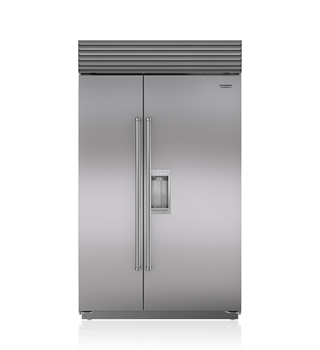"Sub-Zero 48"" Classic Side-by-Side Refrigerator/Freezer with Dispenser"