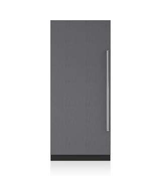"Sub-Zero 36"" Designer Column Refrigerator with Internal Dispenser - Panel Ready"