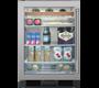"Model: UC-24BA/S/PH-RH   Sub-Zero Legacy Model - 24"" Undercounter Beverage Center - Stainless Door"