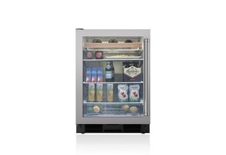 "Sub-Zero Legacy Model - 24"" Undercounter Beverage Center - Stainless Door"