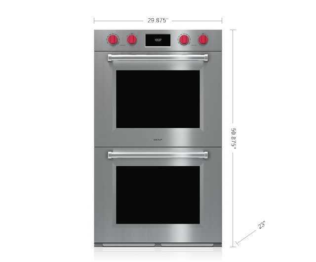 "Model: DO30PM/S/PH | Wolf 30"" M Series Professional Built-In Double Oven"