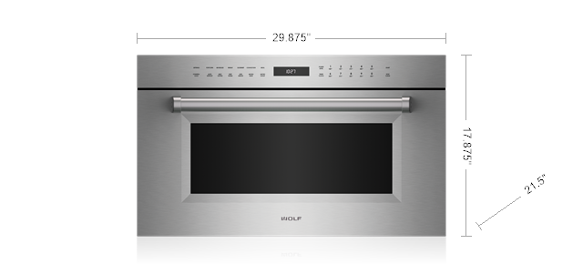 "Model: SPO30PM/S/PH | Wolf 30"" M Series Professional Speed Oven"