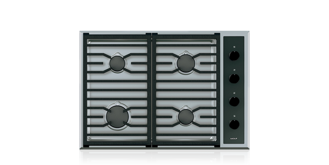 "Wolf 30"" Transitional Gas Cooktop - 4 Burners"