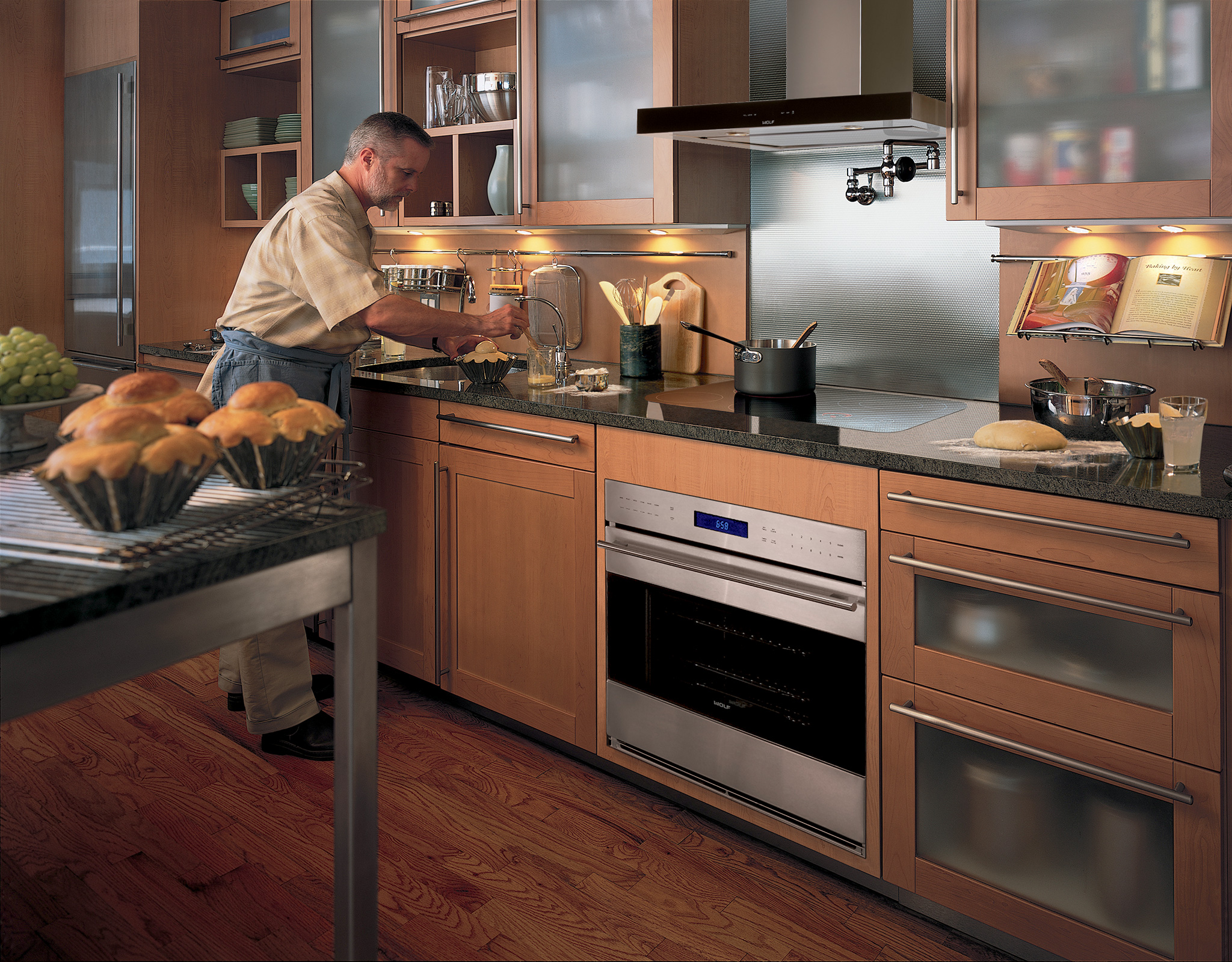 "Model: CT30EU | Wolf 30"" Electric Cooktop - Unframed"