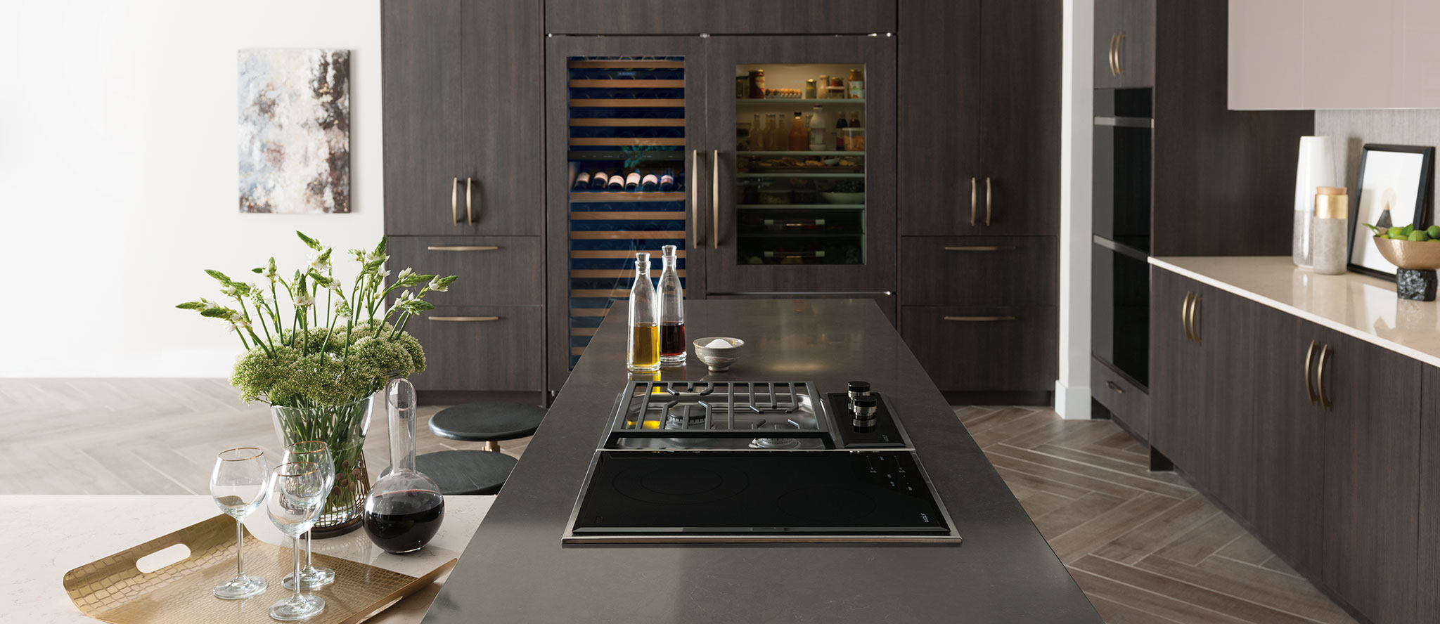 "Model: CE152TF/S | Wolf 15"" Transitional Electric Cooktop"