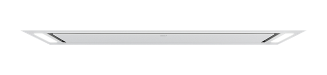 "Model: VC48W | Wolf 48"" Ceiling-Mounted Hood - White Glass"