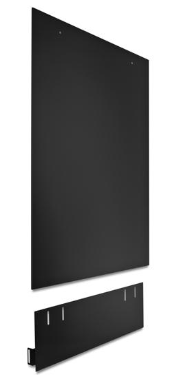 Dishwasher Side Panel, Black