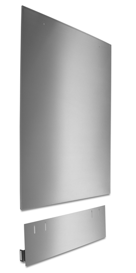 Dishwasher Tall Tub Side Panel Kit, Stainless Steel