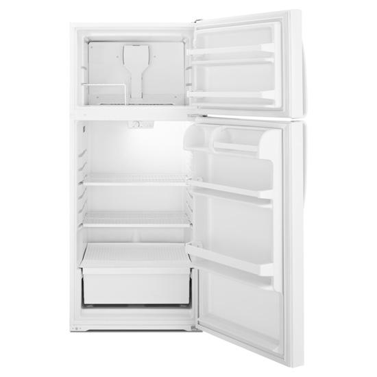 Model: A8TXNWFXW | Amana 17.6 cu. ft. Top-Freezer Refrigerator with Wire Freezer Shelf