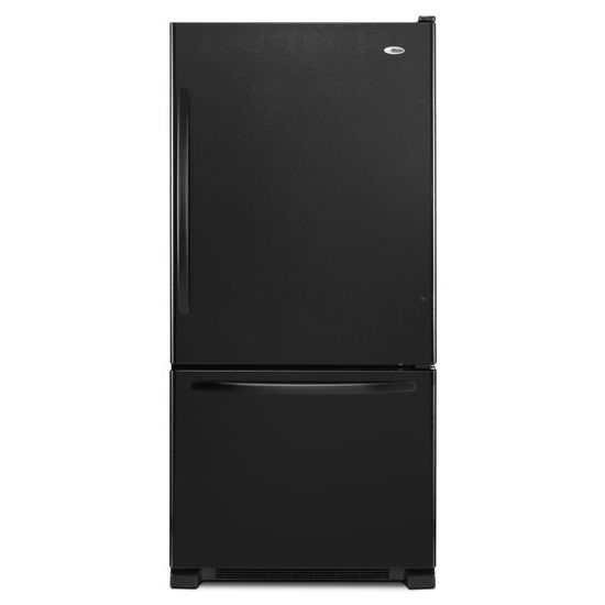 Amana 33-inch Wide Bottom-Freezer Refrigerator with EasyFreezer™ Pull-Out Drawer - 22 cu. ft. Capacity