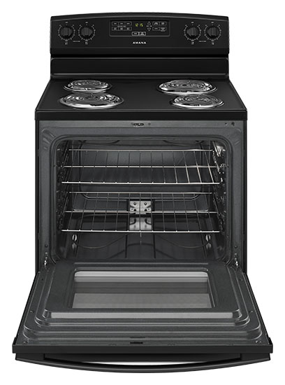 Model: ACR4303MFB | Amana 30-inch Electric Range with Bake Assist Temps