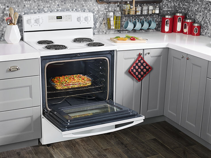 Model: ACR4503SFW | 30-inch Electric Range with Self-Clean Option