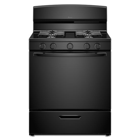 Amana 30-inch Gas Range with EasyAccess™ Broiler Door