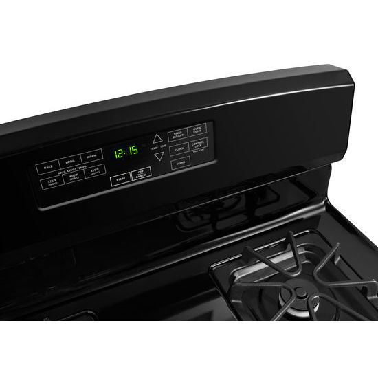Model: AGR6603SFB | Amana 30-inch Gas Range with Self-Clean Option