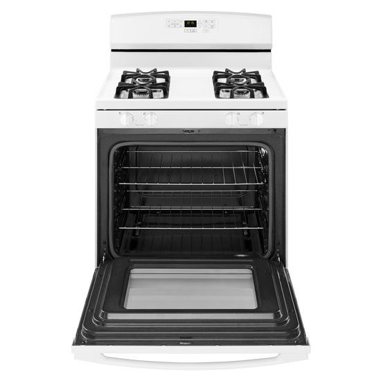 Model: AGR6603SFW | Amana 30-inch Gas Range with Self-Clean Option