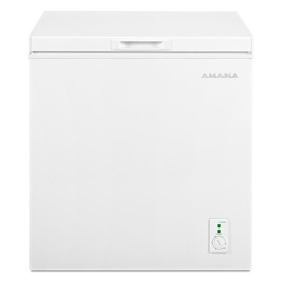 Amana 5.3 Cu. Ft. Compact Freezer with 2 Rollers