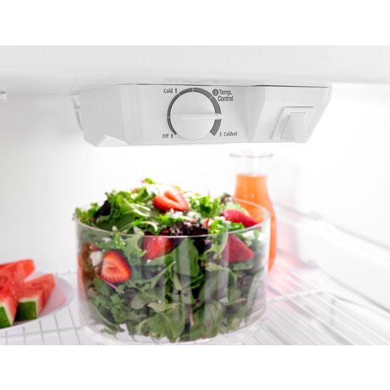 Model: ART104TFDB | Amana 28-inch Top-Freezer Refrigerator with Dairy Bin