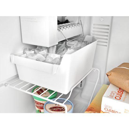 Model: ART106TFDB | Amana 28-inch Top-Freezer Refrigerator with Gallon Door Storage Bins