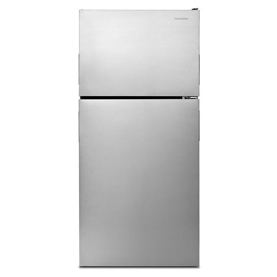 Model: ART308FFDM | Amana 30-inch Wide Top-Freezer Refrigerator with Garden Fresh™ Crisper Bins - 18 cu. ft.