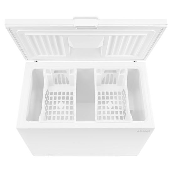 Model: AZC31T15DW | Amana 15 Cu. Ft. Chest Freezer with 2 Baskets