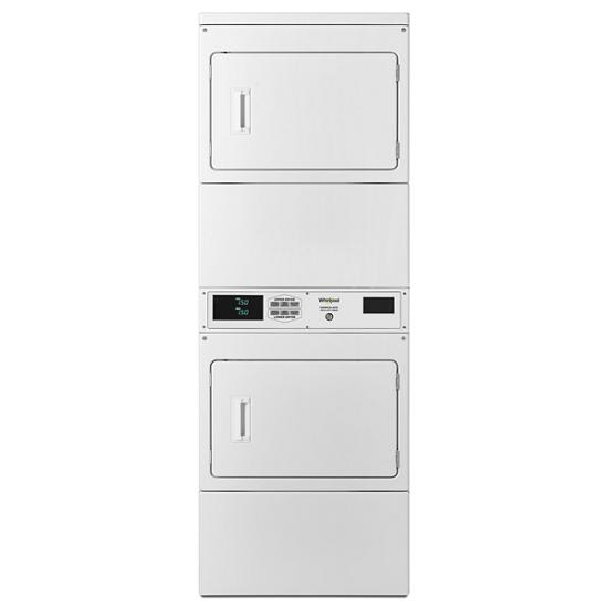 Model: CSP2970HQ | Whirlpool Commercial Electric Stack Dryer, Non-Coin