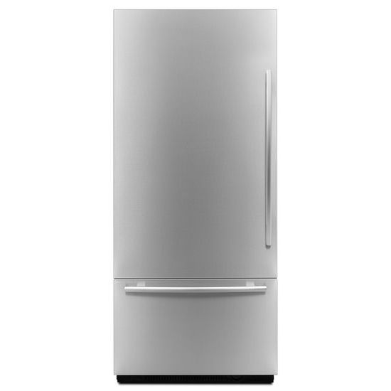 "Model: JB36NXFXLE | 36"" Fully Integrated Built-In Bottom-Freezer Refrigerator (Left-Hand Door Swing)"