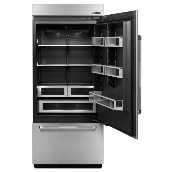 "Model: JB36NXFXRE | Jenn-Air 36"" Fully Integrated Built-In Bottom-Freezer Refrigerator (Right-Hand Door Swing)"