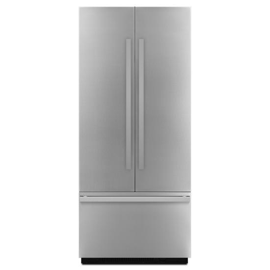 "Jenn-Air NOIR™ 36"" Fully Integrated Built-In French Door Refrigerator Panel-Kit"