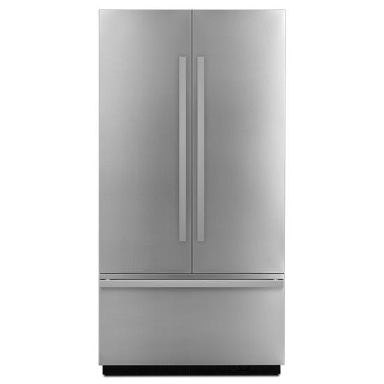 "Jenn-Air NOIR™ 42"" Fully Integrated Built-In French Door Refrigerator Panel-Kit"
