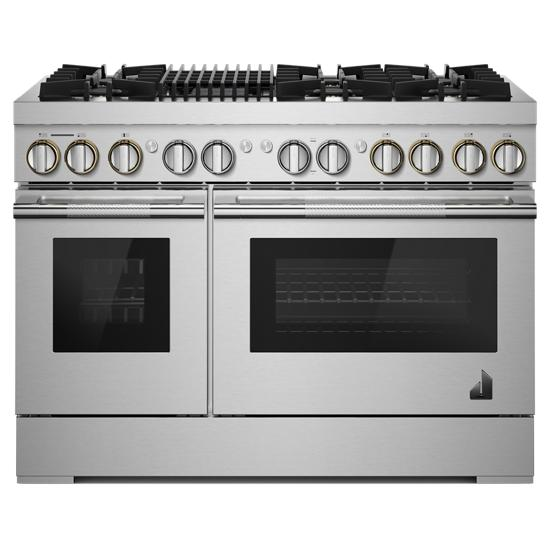 "Jenn-Air RISE™ 48"" Dual-Fuel Professional Range with Gas Grill"