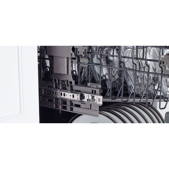 "Model: JDTSS243GX | Panel-Ready 24"" Built-In TriFecta™ Dishwasher, 38dBA"