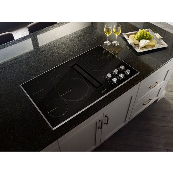 "Model: JED3536GS | Jenn-Air Euro-Style 36"" JX3™ Electric Downdraft Cooktop"