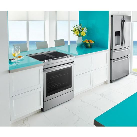 "Model: JES1750FS | Jenn-Air Euro-Style 30"" Electric Downdraft Range"