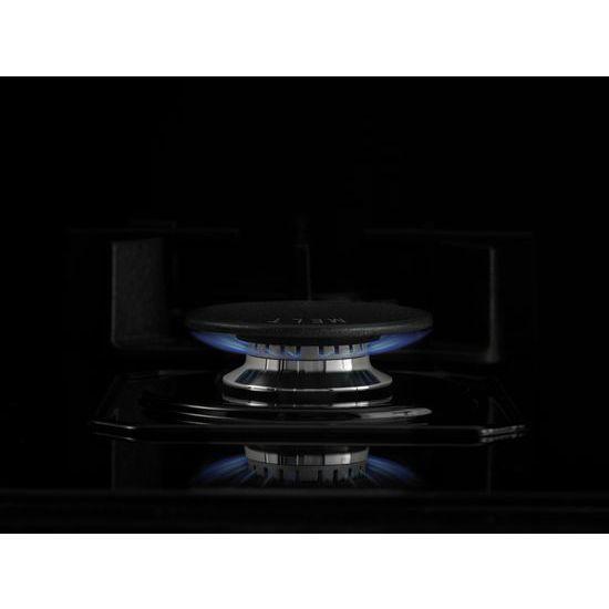 "Model: JGC2536EB | Jenn-Air Black Floating Glass 36"" 5-Burner Gas Cooktop"