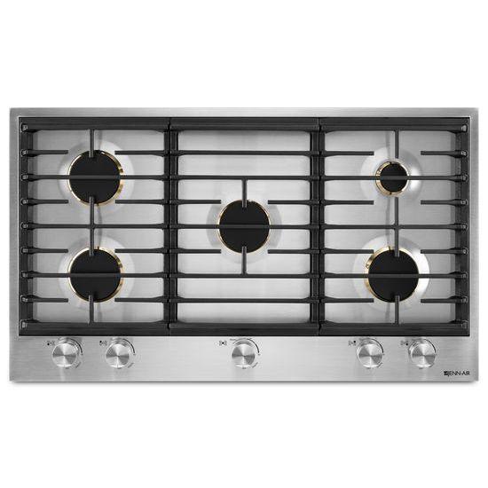 "Jenn-Air Euro-Style 36"" 5-Burner Gas Cooktop"