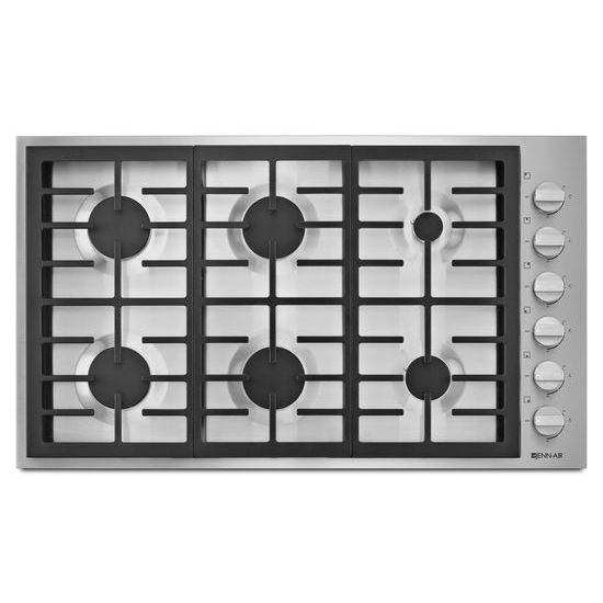 "Jenn-Air Pro-Style® 36"" 6-Burner Gas Cooktop"
