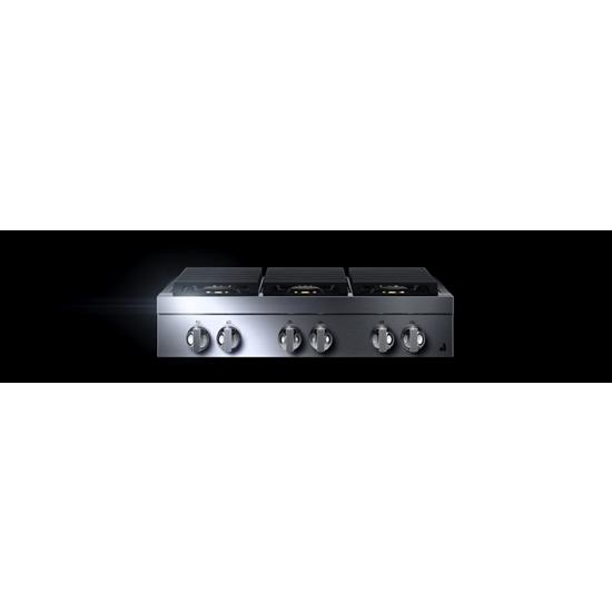 "Jenn-Air NOIR™  36"" Gas Rangetop"