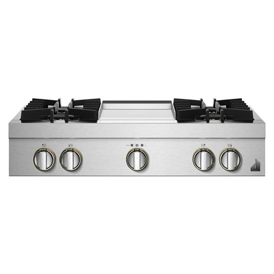 "Jenn-Air RISE™ 36"" Gas Rangetop"