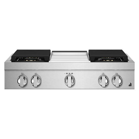 "Jenn-Air NOIR™ 36"" Gas Rangetop"