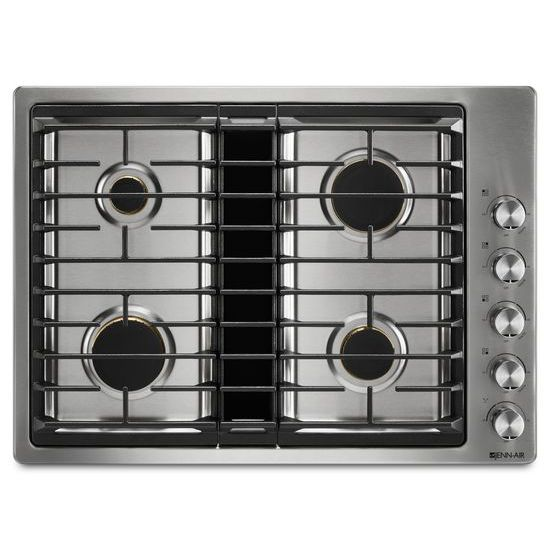 "Jenn-Air Euro-Style 30"" JX3™ Gas Downdraft Cooktop"