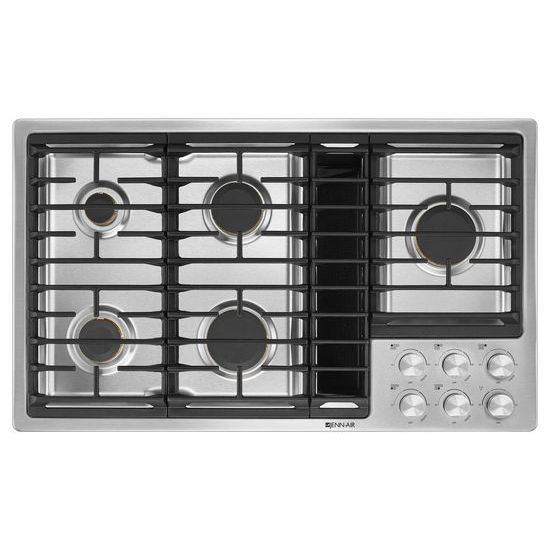 "Jenn-Air Euro-Style 36"" JX3™ Gas Downdraft Cooktop"