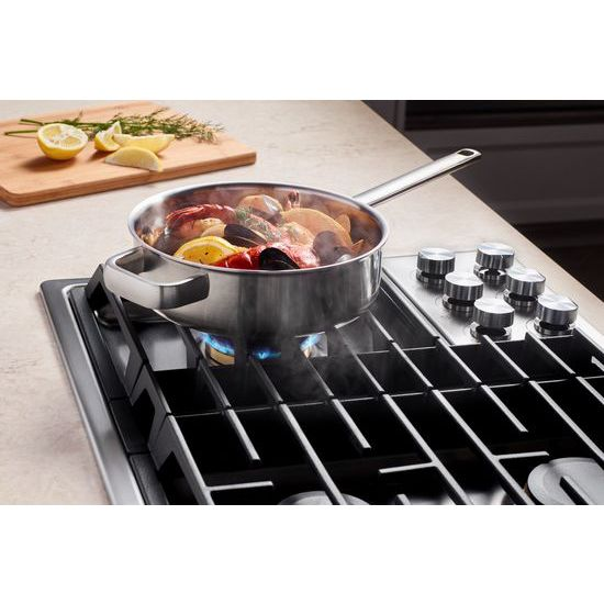 "Model: JGD3536GS | Jenn-Air Euro-Style 36"" JX3™ Gas Downdraft Cooktop"
