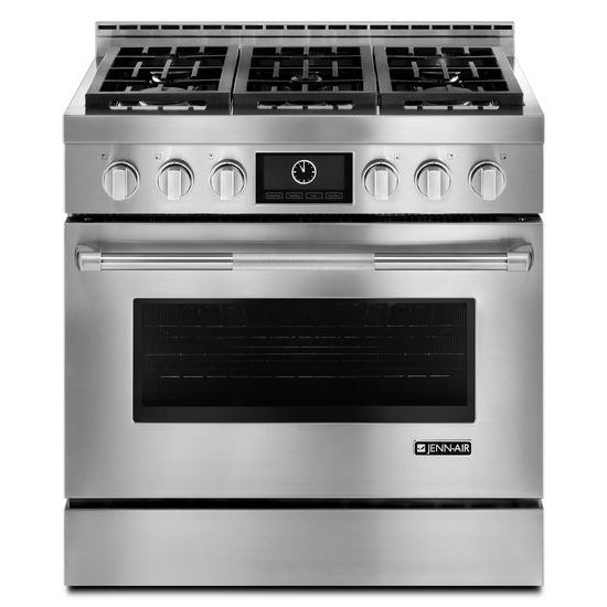"Jenn-Air Pro-Style® 36"" Gas Range with MultiMode® Convection"