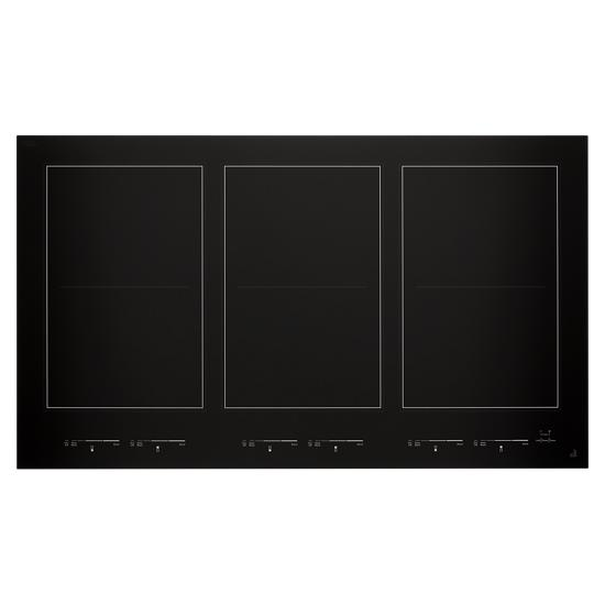 "Model: JIC4736HB | Jenn-Air Oblivion Glass 36"" Induction Flex Cooktop"