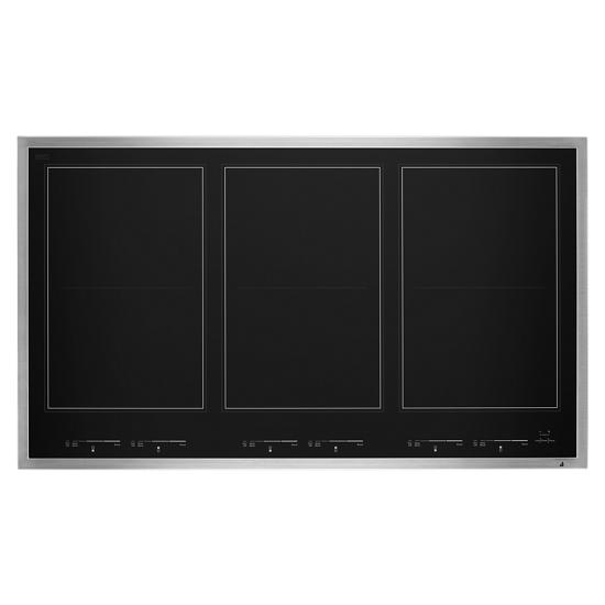 "Jenn-Air Lustre Stainless 36"" Induction Flex Cooktop"