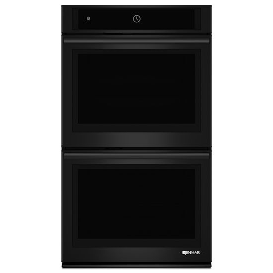 """Jenn-Air Black Floating Glass 30"""" Double Wall Oven with MultiMode® Convection System"""